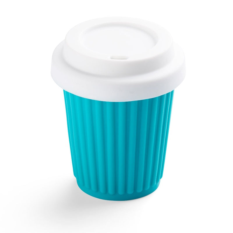 Onya Reusable Coffee Cup - Aqua (236ml / 8oz)