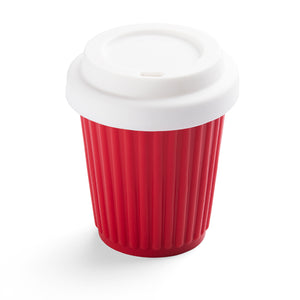 Onya Reusable Coffee Cup - Red (236ml / 8oz)