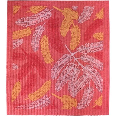 RetroKitchen 100% Compostable Dishcloth - Poinciana Leaves