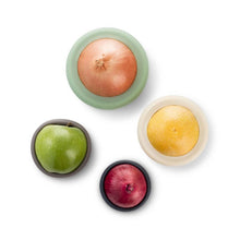 Load image into Gallery viewer, Seed & Sprout Silicone Fruit and Veg Food Huggers