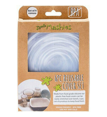 Little Mashies Reusable Food Cover Set (6 Pack)