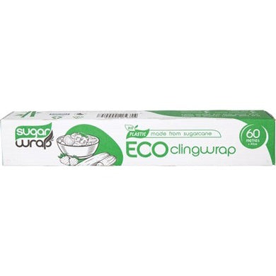 Sugarwrap Eco Clingwrap Made from Sugarcane (60m)