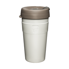 Load image into Gallery viewer, KeepCup Reusable Thermal Coffee Cup - Large 16oz White (Latte)