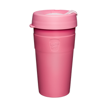 Load image into Gallery viewer, KeepCup Reusable Thermal Coffee Cup - Large 16oz Pink(Saskatoon)