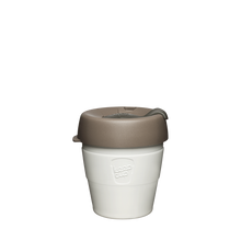 Load image into Gallery viewer, KeepCup Reusable Thermal Coffee Cup - Extra Small 6oz White (Latte)