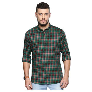 Combo of 3 Slim Fit Check Shirts for Men