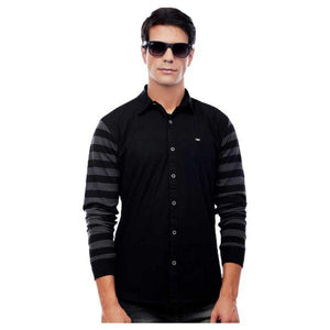 Combo of 3 Slim Fit Designer Cotton Shirts for Men