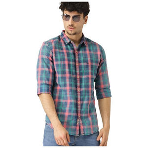 Combo of 3 Branded Long Mix Cotton shirts for men