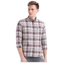 Load image into Gallery viewer, Combo of 3 Slim Fit Check Cotton Fabric Shirts for Men