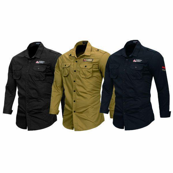 Combo of 3 Branded Solid Shirts for Men
