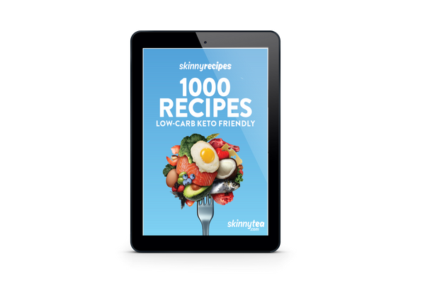 FREE eBook - SkinnyRecipes 1000 Low-Carb Keto Friendly Recipes