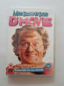 MRS . BROWN'S BOYS D'MOVIE DVD USE
