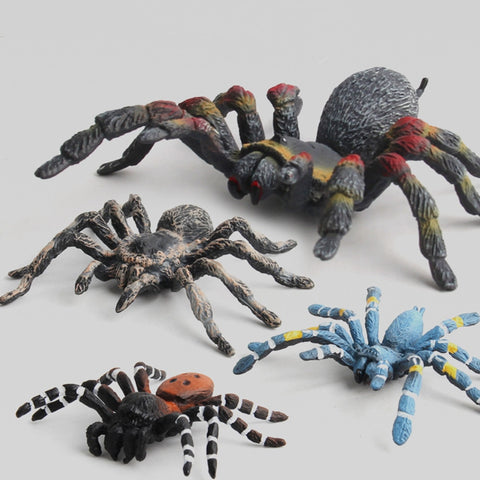 Funny Toys Animal Spider Models Simulated Figures Educational Toys for Children Kids Home Decor Mini Doll Figurine Toy Gift
