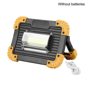 LED Portable Spotlight LED Work Light Rechargeable 18650 Battery For Hunting Camping LED Flashlight Outdoor Light LL-811