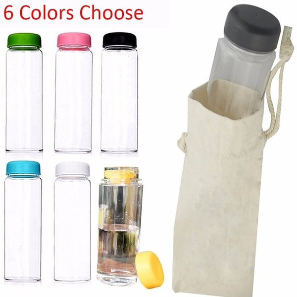 Summer Sports Cycling Camping Readily Space Health Lemon Juice Milk Water Bottle 500ml/350ml