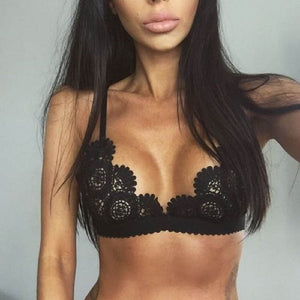 New Cutout Lace Bra