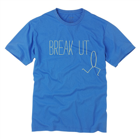 Organic howies breakout t-shirt for online shop