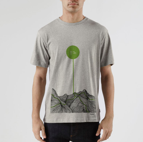 Organic howies cycling t-shirt for online shop