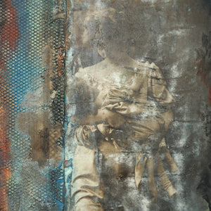 Mixed Media Encaustic by Darryl Cox Jr - MOTHER