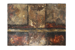 Encaustic Wall Art by Darryl Cox Jr - CROSSROADS 1