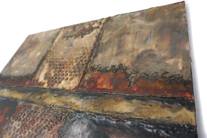 Encaustic Wall Art by Darryl Cox Jr - CROSSROADS 2
