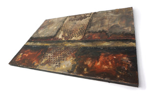 Encaustic Wall Art by Darryl Cox Jr - CROSSROADS 3