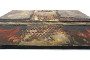 Encaustic Wall Art by Darryl Cox Jr - CROSSROADS 4