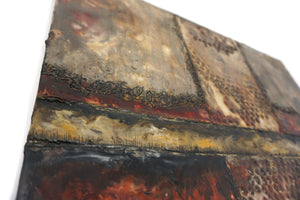 Encaustic Wall Art by Darryl Cox Jr - CROSSROADS