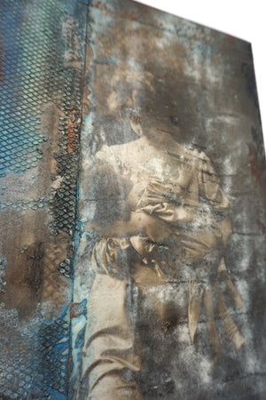 Encaustic Wall Art by Darryl Cox Jr - MOTHER 4