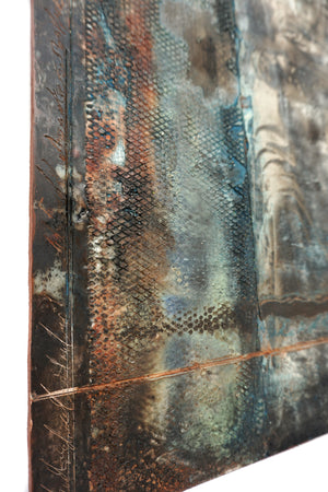 Encaustic Wall Art by Darryl Cox Jr - MOTHER 3