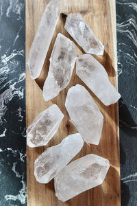Raw Clear Quartz