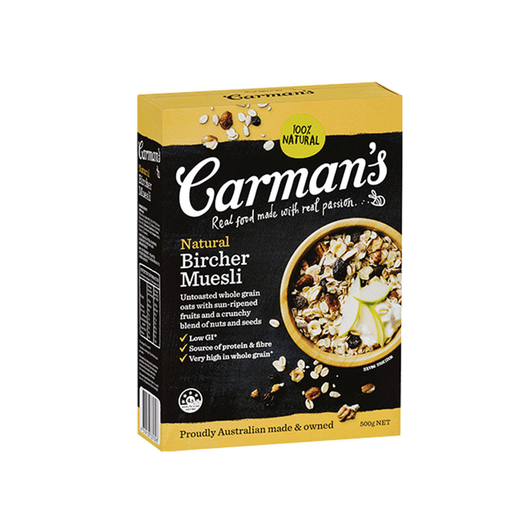 Carman's Natural Bircher Museli (500g)