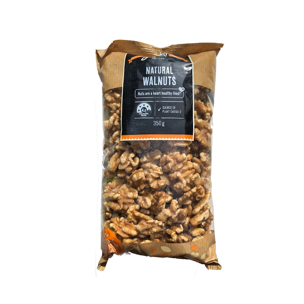 JC's Natural Walnuts 350g