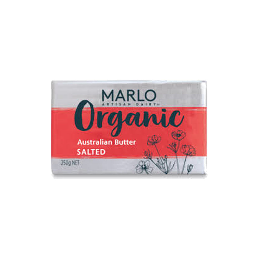 Marlo Organic Salted Butter 250g