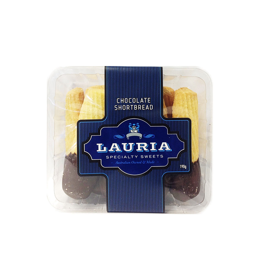 Lauria Chocolate Shortbread 190g
