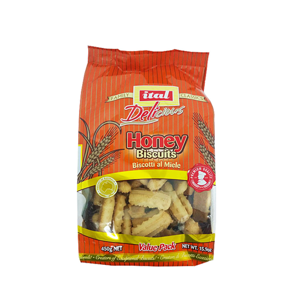 Ital Honey Biscuits 450g
