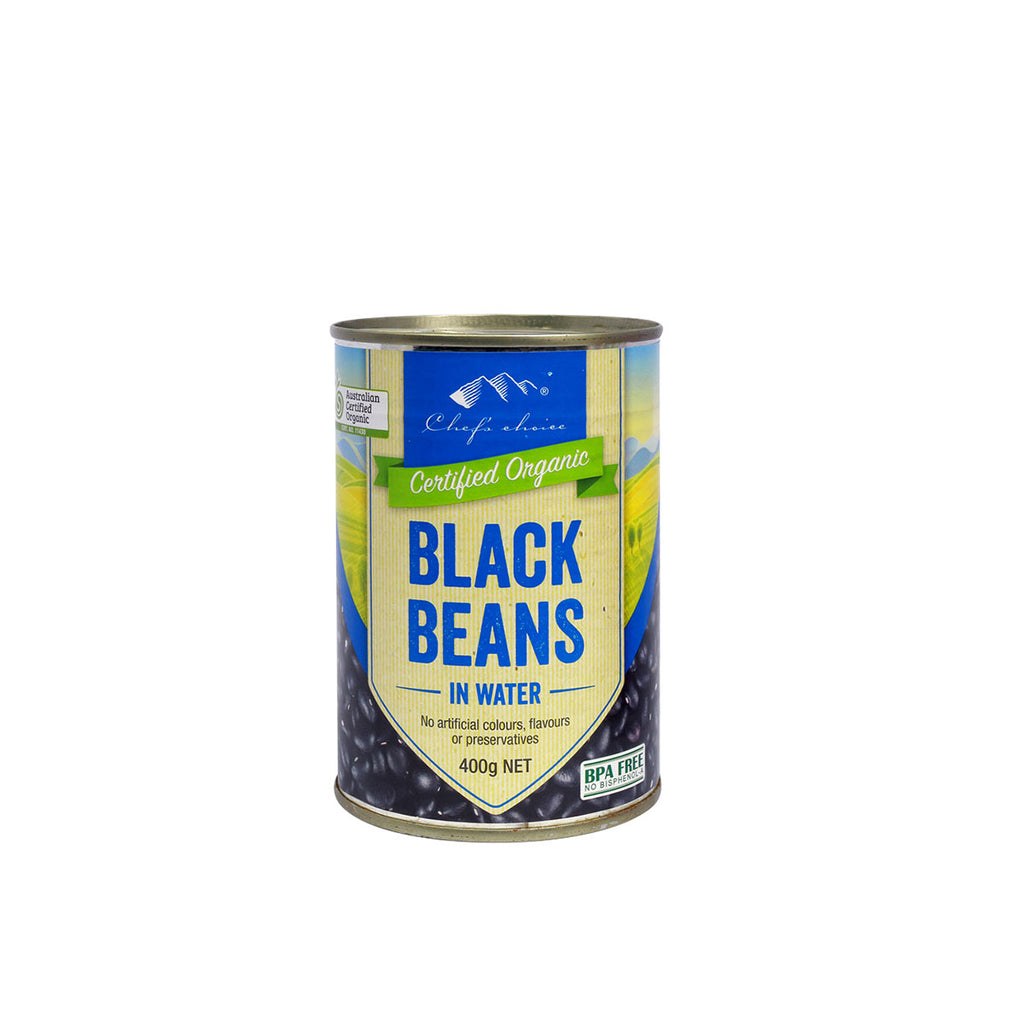 Chefs Choice Certified Organic Black Beans