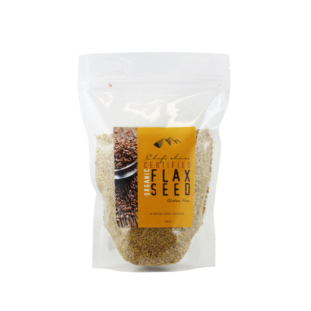Chef's Choice Certified Organic Flax Seed 500g