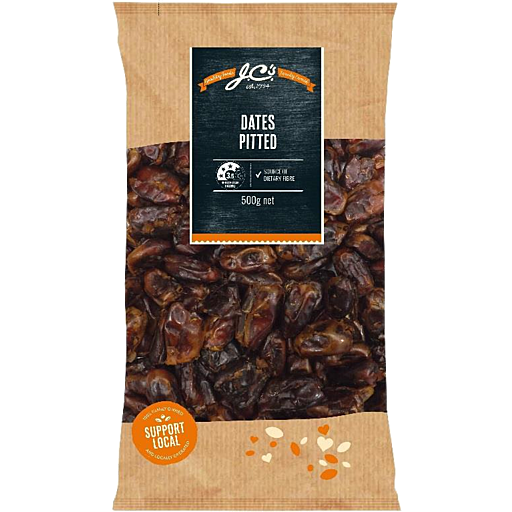 JC's Pitted Dates (500g)