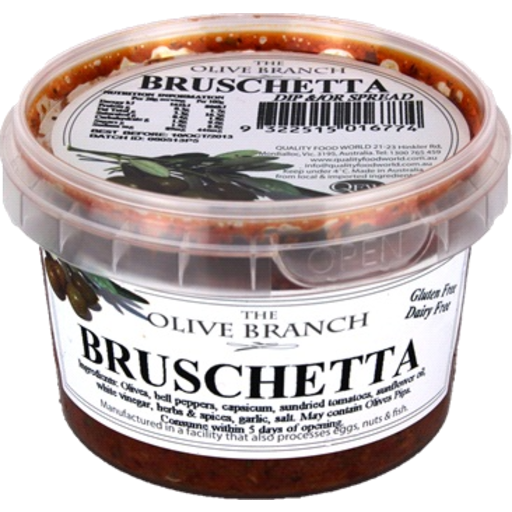 The Olive Branch Bruschetta