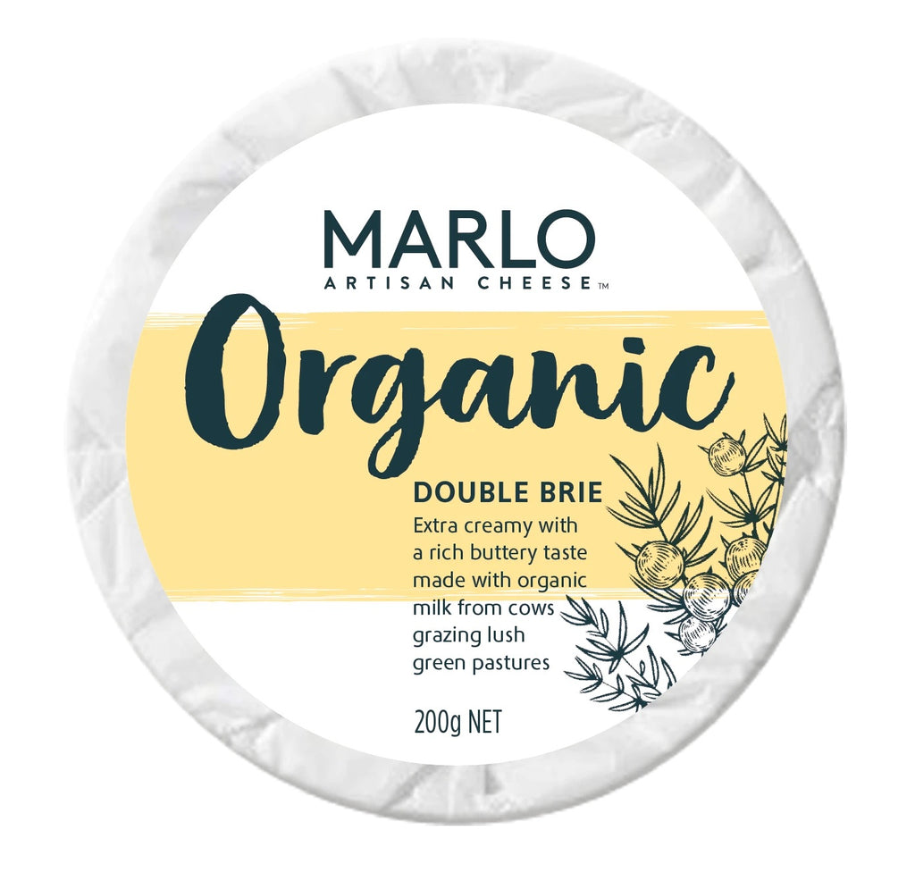 Marlo Organic Artisan Cheese Double Brie