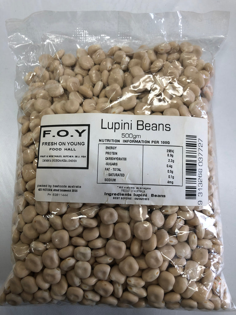 Lupini Beans (500g)