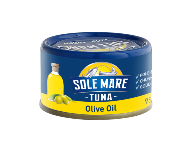 Sole Mare Tune Olive Oil (95g)