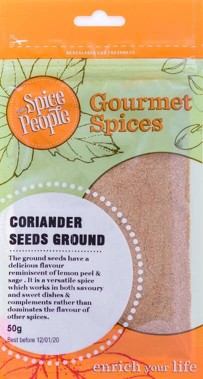 The spice people - Coriander seeds ground (50g)