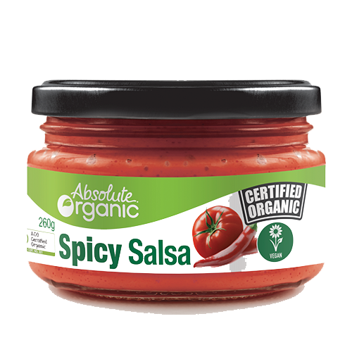 Absolute Organic- Spicy Salsa 260g