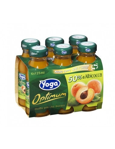 Yoga Apricot Drink 6 x 125ml