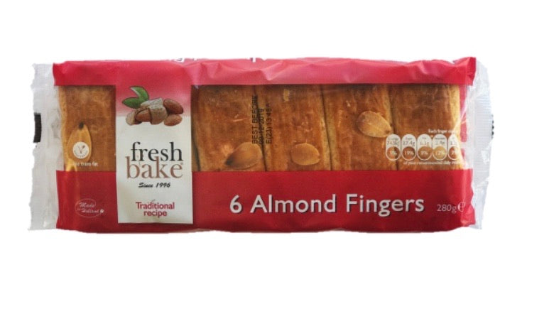 Fresh Bake Almond Fingers