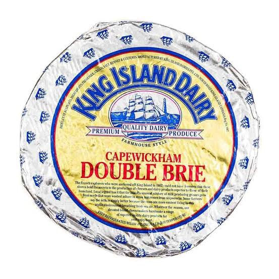 King Island Cape Wickham Brie (approx 200-250g)