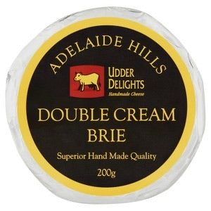 Double Cream Brie- Adelaide Hills (200g)