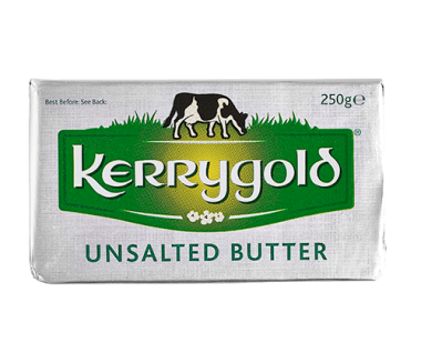 Kerrygold Pure Irish Butter 250g - Unsalted